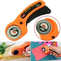 rotary 45mm cutter quilters premium sewing quilting fabric cutting craft tool