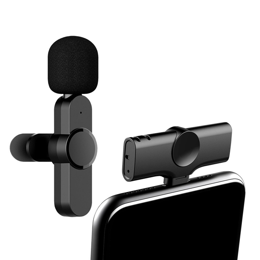 Lavalier Wireless Radio Microphone Mobile Phone Live Broadcast Small Microphone Video Shooting Microphone enlarge