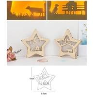 metal cutting dies star moon frame cut die mold decoration scrapbook paper craft knife mould blade punch stencils dies