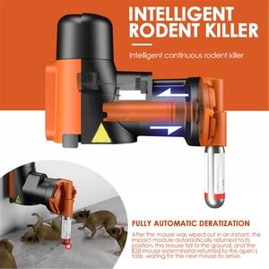 Smart Automatic Humane Non-Toxic Rat Mouse Trap Kit Rat Multi-Catch Trap Machine CO2 Cylinders Humane Mouse Non-toxic Trap Tool