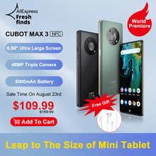 Смартфон Cubot MAX 3, 6,95-дюйма большой полноэкранный экран, мини-планшет, мобильный телефон, 48МП тройная камера, массивная батарея 5000мАч, Android 11, NFC...