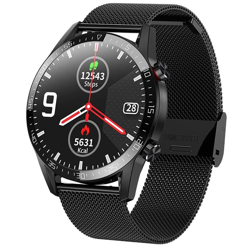 Ipbzhe Smart Watch Android 2021 Bluetooth Call Smart Watch Men Business Reloj Inteligente Smartwatch