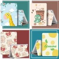 cute cartoon cover for ipad air 1 2 3 mini 4 5 7 9 case 2018 9 7 10 2 inch 2019 soft funda case for ipad 10 5 case pro 11 case