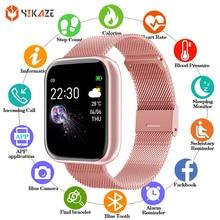 2021 спортивные Смарт часы для мужчин женщин крови Давление фитнес трекер для измерения сердечного ритма Bracelelt WhatsApp Smartwatch часы для IOS и Android
