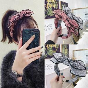 Hairband Fashion Accessories Women's Tie Headband Ear Wide Knot Hair Hoop Band