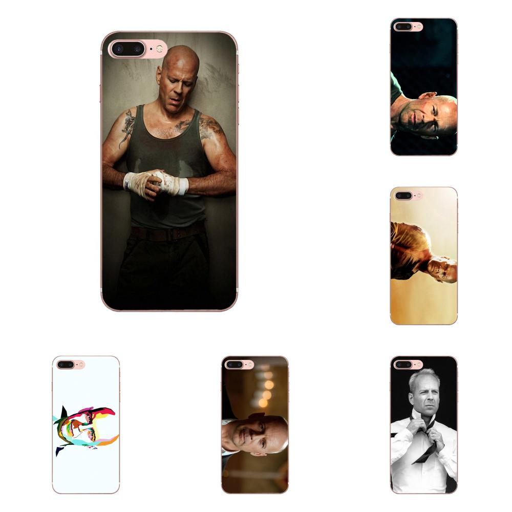 Live Free Or Die Hard Bruce Willis For Samsung Galaxy A10 A20 A20E A3 A40 A5 A50 A7 J1 J3 J4 J5 J6 J