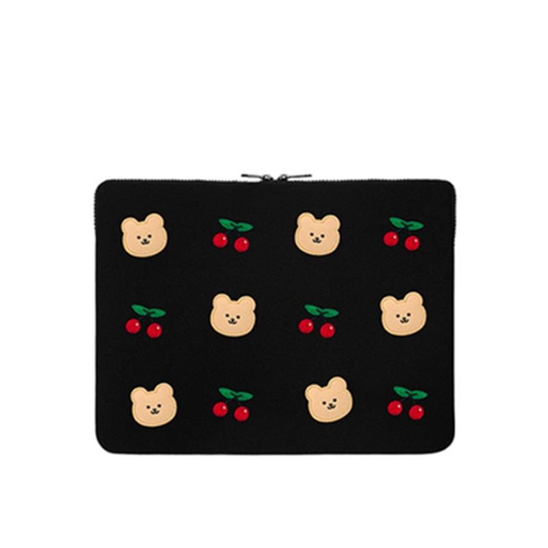 Cute Bear Protection Case for Ipad 11/13/15Inch Tablet Sleeve Bag Notebook Bag Carrying Bag for Macbook Air Pro Pvc Laptop Bags