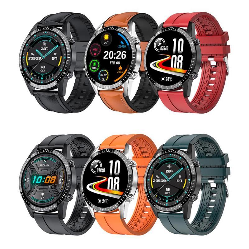 I9 ساعة ذكية تعمل باللمس كامل شاشة مستديرة بلوتوث متوافقة دعوة Smartwatch الرياضة اللياقة البدنية مقاوم للماء ساعة آيفون سامسونج