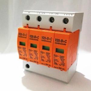 Surge Arrester 385VAC Combi Controller Surge Protector 7-50KA V25-B+C 4p