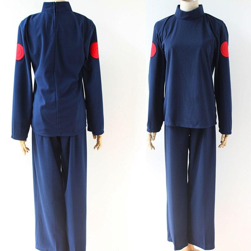 Caliente Anime Naruto Hatake Kashi Shippuden Cosplay traje conjunto completo Top + Pantalones + chaleco otoño ropa de abrigo disfraz de Halloween