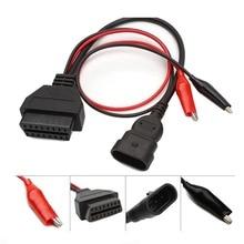 Для Alfa Lancia OBD 3 Pin к OBD2 16 контактный разъем OBDII Obd II адаптер Авто кабель Obd для Fiat 3pin с Elm 327 Bluetooth