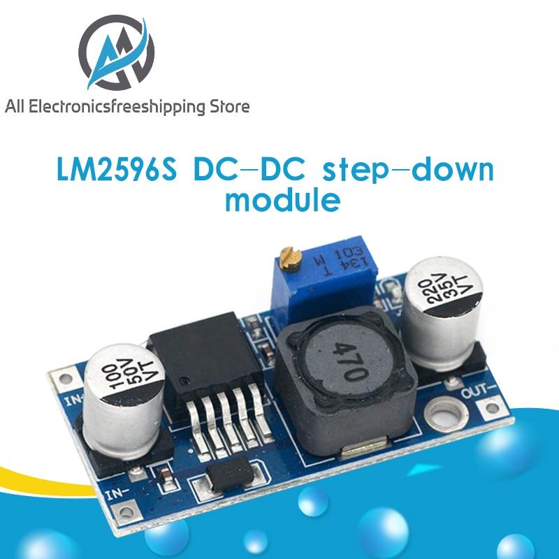LM2596s DC-DC step-down power supply module 3A adjustable step-down module LM2596 voltage regulator