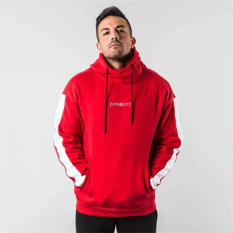 Мужская спортивная одежда, зимняя спортивная одежда для бега, мужская спортивная одежда, популярная модная повседневная спортивная одежда
