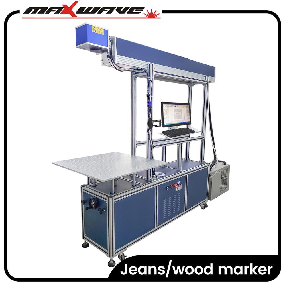 Impresora láser China/máquina de impresión digital de tela/máquina de marcado láser co2