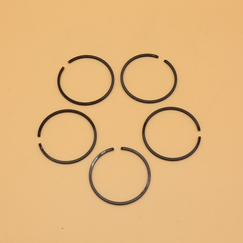 AliExpress - 5Pcs/Lot 40mm & 38mm Piston Rings Fit For Husqvarna 136 137 141 142 36 41 Gasoline Chainsaw Spare Parts (1.5mm Thickness)