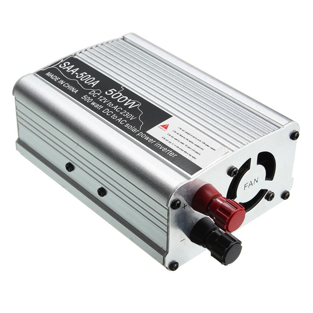 محول موجة جيبية معدلة ، 300-1500 واط ، 12 فولت تيار مستمر إلى 230 فولت تيار متردد ، طاقة شمسية ، للمنزل ، السيارة ، جديد