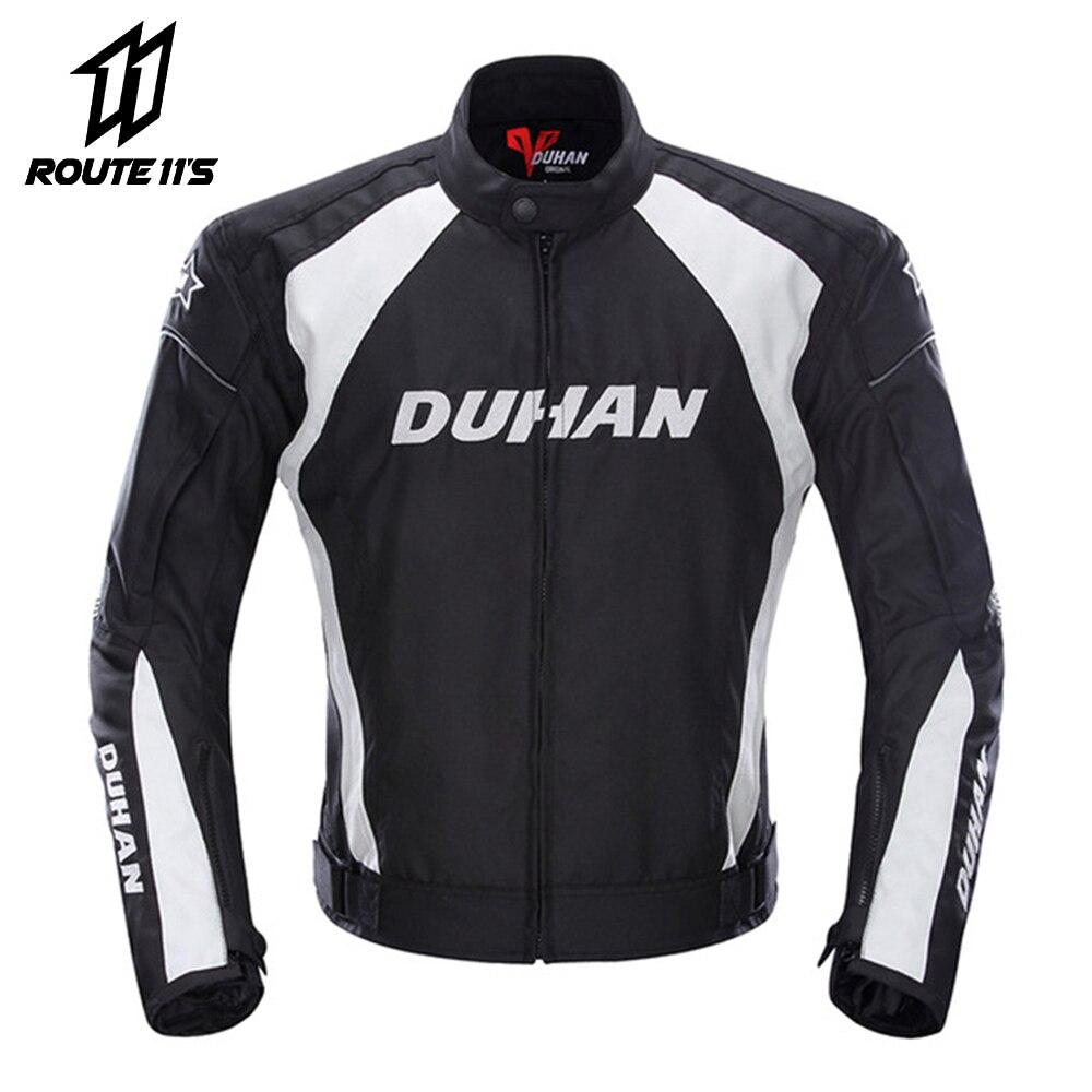DUHAN Motorcycle Jacket Men Protective Gear Moto Jacket Motorcycle Pants Windproof Cold-proof Touring Motorbike Riding Suit