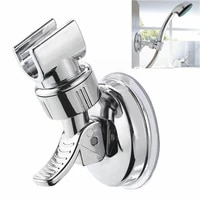 universal adjustable shower head bracket wall mounted bathroom bracket vacuum with fixed accessories shower base cup suctio q1h4