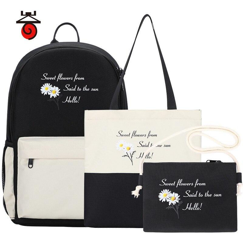 New Trend Female Backpack Fashion Women Backpacks Shoulder Bags Cute Teenager Girl School Bag Female