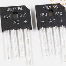 Mxy SEP KBU610 6A1000V KBU-610 rectifier bridge Professional Electronic Component Parts A starting 1