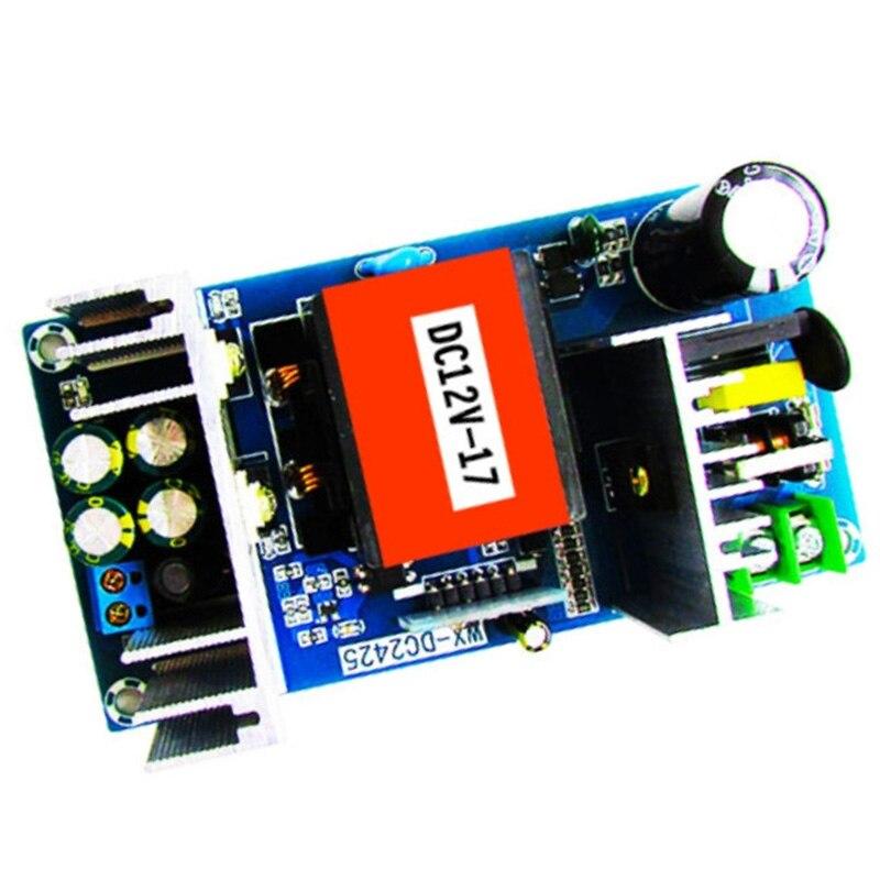 محول تيار متردد 220 فولت 110 فولت إلى تيار مستمر 12 فولت 17 أمبير بحد أقصى 20 أمبير 200 واط محول جهد منظم مزود الطاقة