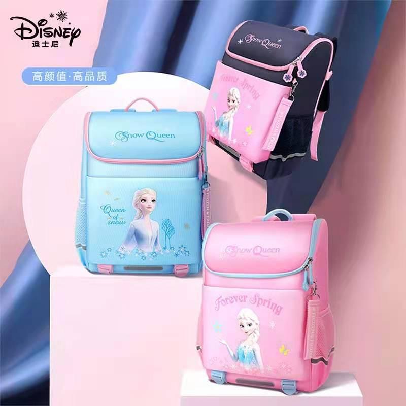 2021 Disney Frozen School Bags for Girls Elsa Anna Primary Student Shoulder Backpack Large Capacity  Girl Gifts Mochilas Escolar