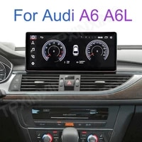 10 25 for audi a6 a6l c7 rs6 mmi tfsi android car gps navi radio carplay stereo audio accessories navigation with ips screen