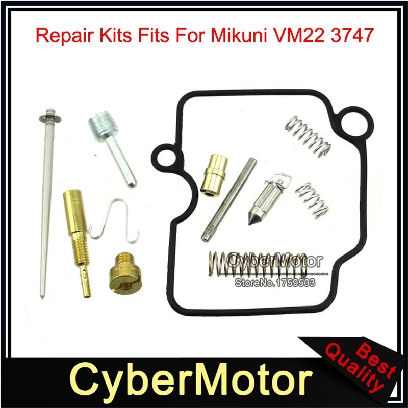 Conjunto completo kit de reparo reconstrução carburador para vm22 26mm mikuni carb pit dirt bike principal jet #95 lento #22.5
