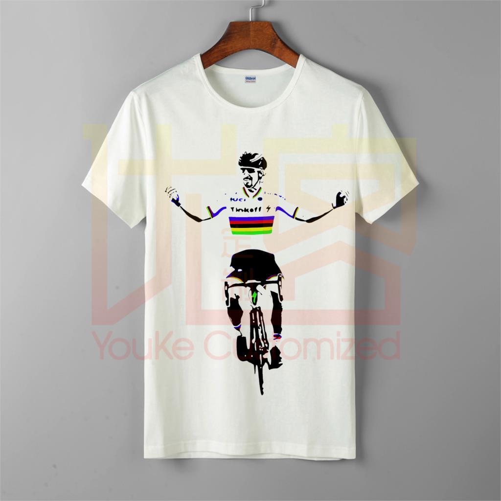 Camiseta de calle peter saga streetwear 2019 hombres primavera mejores camisetas homme ropa corta cuello redondo Camiseta de hombre
