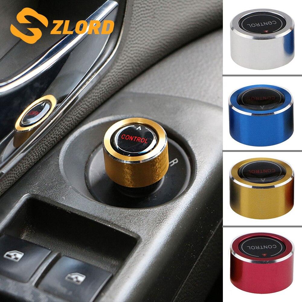 Car Rearview Mirror Push-Button Knob Rotary Control Button Switch Trim Cover Sticker for Chevrolet Cruze Malibu Trax 2017 - 2018
