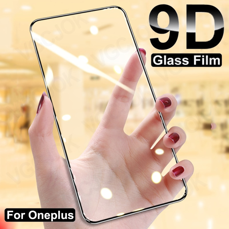 9D Full Protection Glass For Oneplus 9 9R 9E 8T 7 7T 1+6 6T 5 5T Tempered Screen Protector Oneplus N
