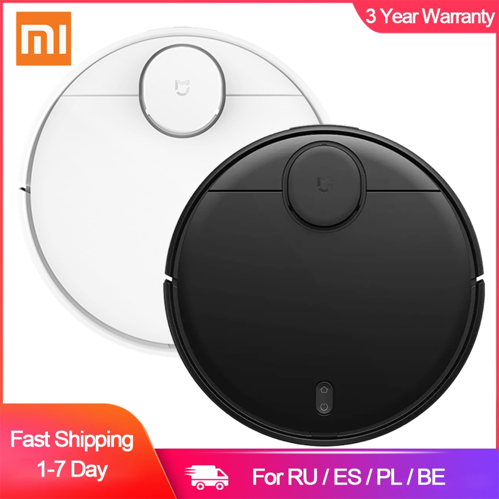 XIAOMI MIJIA Mi Sweeping Mopping Robot Vacuum Cleaner STYJ02YM Robot Smart Vacuum-Mop LDS Radar Self-Charge Super Strong Suction