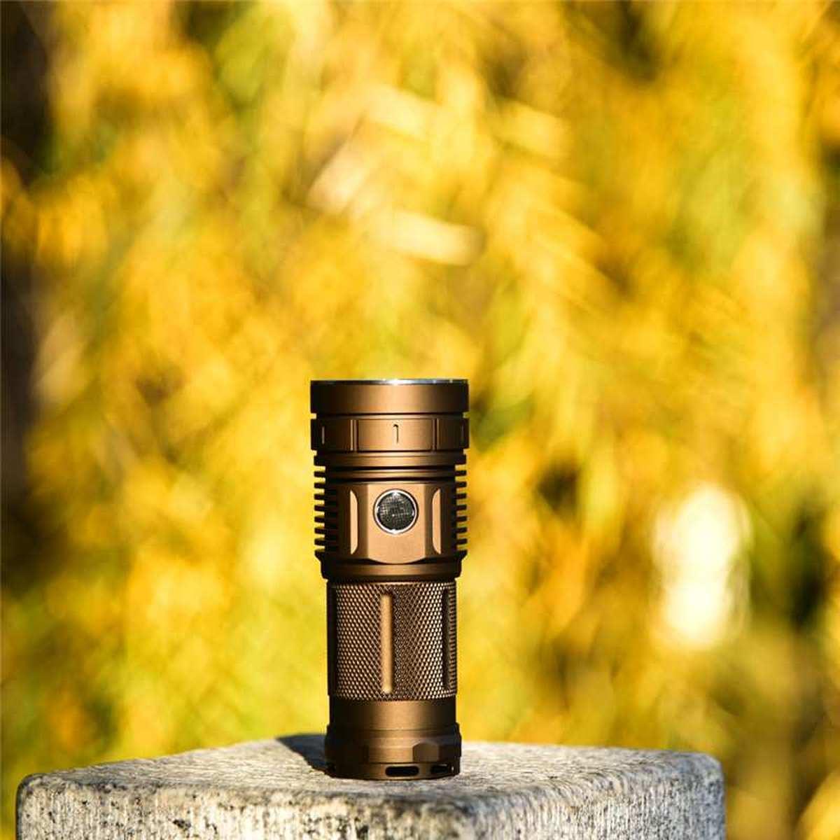 Haikelite HK04 Flashlight 13000LM Super Bright 4 x XHP50.2 Anduril UI IPX7 Waterproof Torch for Camping Spotlights Lantern Lamp enlarge