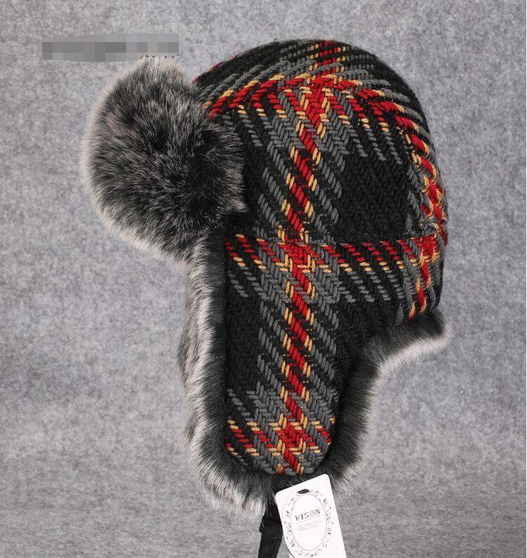 قبعة lei feng موضة الشتاء للرجال والنساء, قبعة دافئة للغاية! قبعة الخريف والشتاء للرجال والنساء على الطراز الكوري قبعة تزلج TB3725