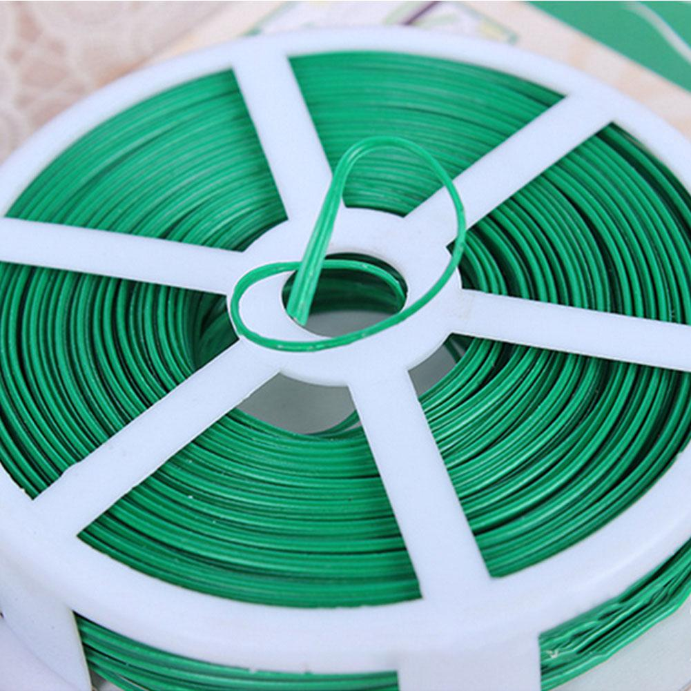 15/50m amarrado corda/15m disco corda videiras prendedor de ligação fio vegetal planta enxertia fixador agrícola fontes de estufa