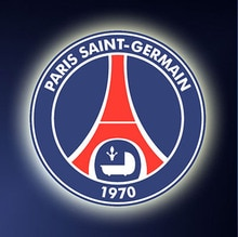 Paris Saint-Germain di Calcio Logo Diamante Pittura Ricamo Psg Logo Diamante Gioco Ricamo Cubo Decorare Strass Regali