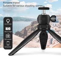 l310 mini convenient retractable tripod is suitable for mobile phone slr camera and mirrorless camera live light supplement mini