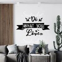 Mignon Phrase Autocollant Amovible En Vinyle Murale Affiche Pour Enfants Chambres Decoration Pour La Maison Bricolage Autocollant Mural