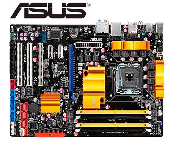 ASUS P5Q оригинальная настольная материнская плата LGA 775 DDR2 16GB P45 используемая настольная материнская плата
