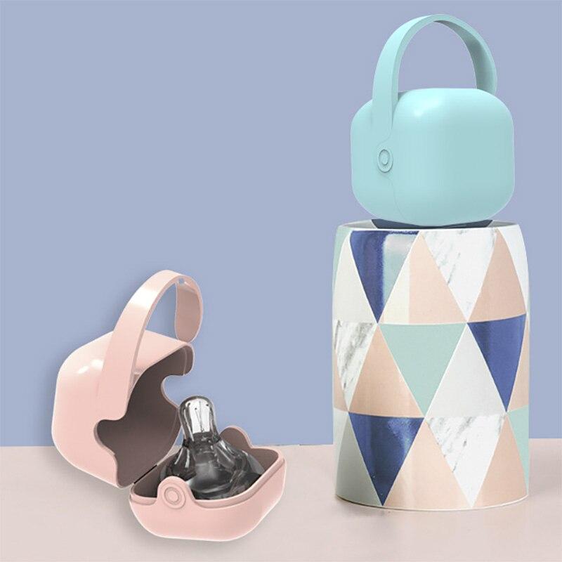 Чехол-соска для новорожденных, портативный контейнер для соска для младенцев, коробка для соски для малышей, подарок для будущей мамы