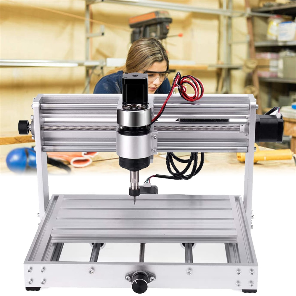 Upgrade CNC 3018Pro Max Engraver With 200W Spindle 3 Axis Pcb Milling Machine GRBL Control Wood Router Engraver Controller enlarge