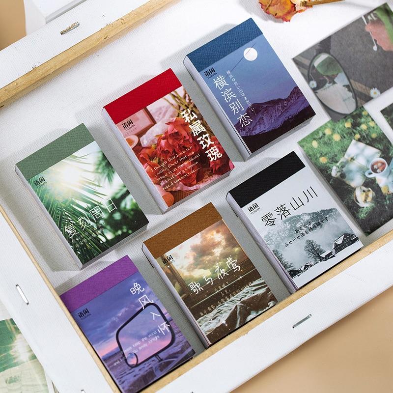 50pcs-adesivi-di-cancelleria-per-paesaggi-naturali-libro-esteti-farfalla-carino-bullet-journal-adesivi-per-estetica-di-cancelleria-coreana