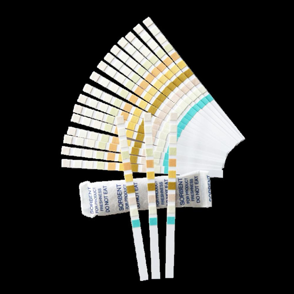 English guide URS 10T 100Pcs Easy Use Meter Urine PH Test Strips Convenient Alkaline Testing Controller Accurate Acid Levels