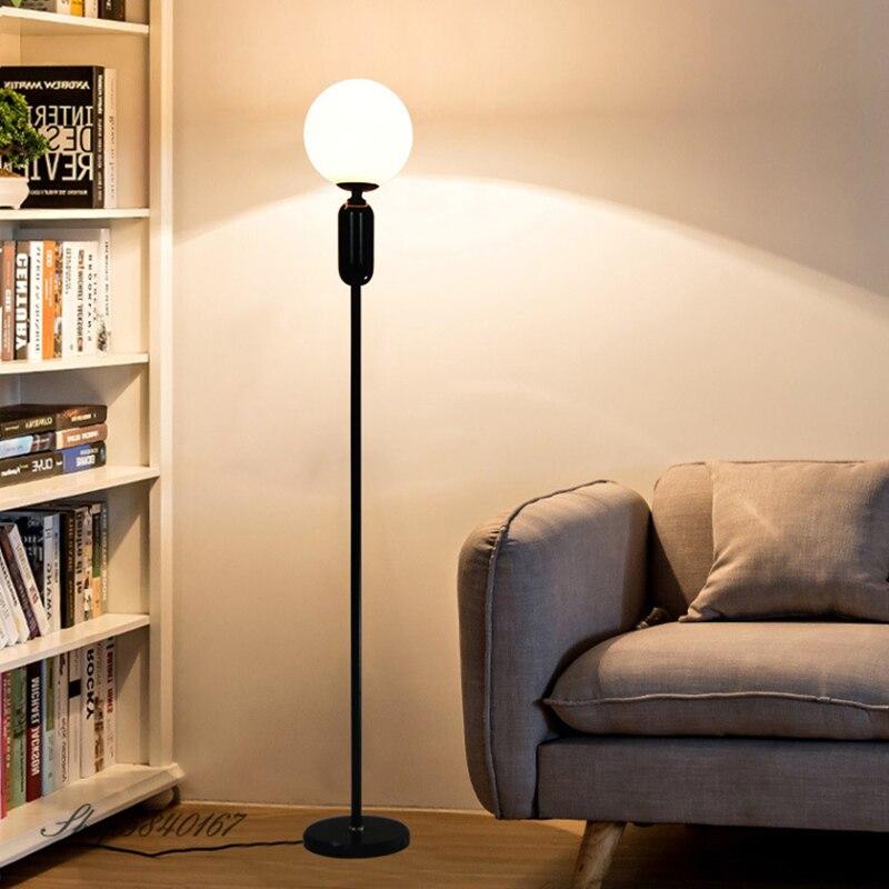 Lámpara moderna De Pie para sala De estar, luz LED De suelo,...
