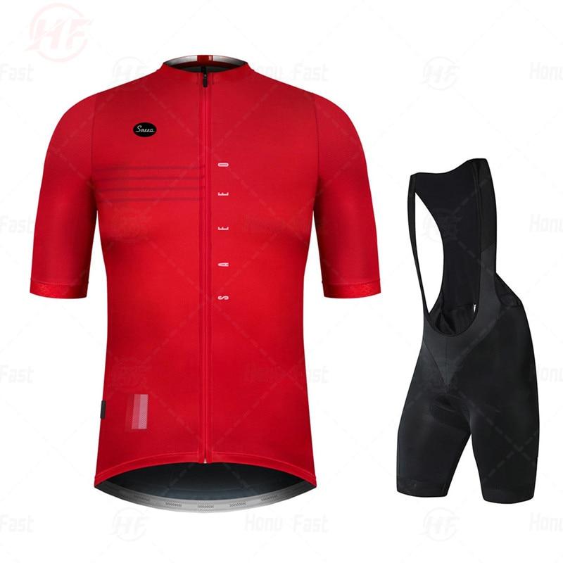 Men Cycling Jersey 2020 Pro Team Go bike Summer Cycling Clothing Quick Drying Set Racing Sport Mtb Bicycle Jerseys Bike Uniform