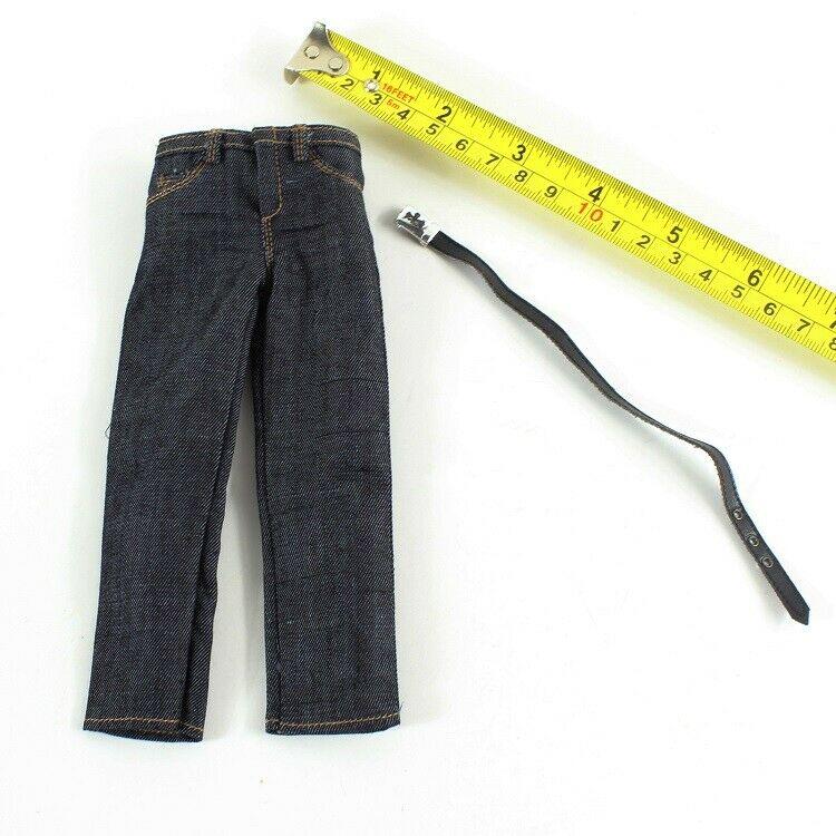 Аксессуары для мужчин, модель джинсов и пояса для куклы 12 дюймов