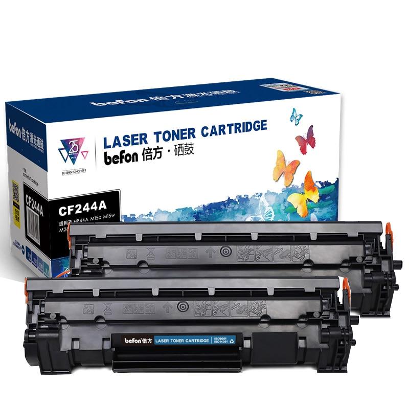 Сменные картриджи befon 44A для принтеров HP CF244A, HP LaserJet Pro, M15w, HP LaserJet, M15a, MFP, M28w, M28a