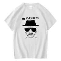 xinyi mens t shirt high quality 100 cotton short sleeve funny loose heisenberg printing printing men t shirt harajuku shirt
