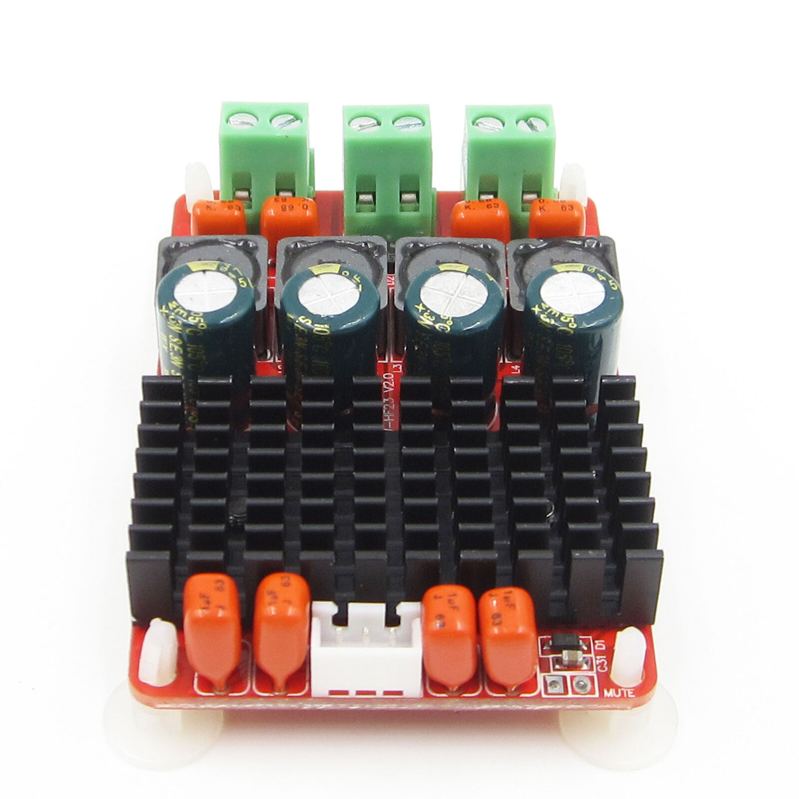 Dc 12 v 24 v tpa3116 mini placa de microplaqueta decodificador amplificador duplo canal estéreo 50 w * 2 btl mono 100 w para amplificador de cinema em casa