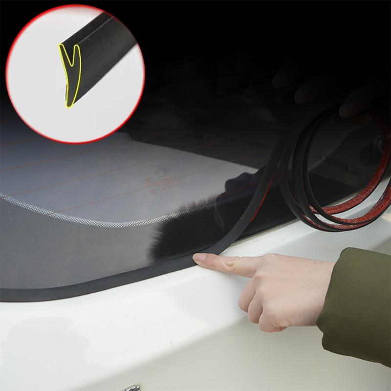 Y-образные автомобильные уплотнительные полосы, зазор на заднее окно, герметичная Водонепроницаемая Пылезащитная Звукоизоляционная герме...